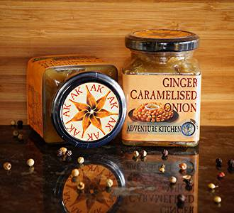 Ginger Caramelised Onion
