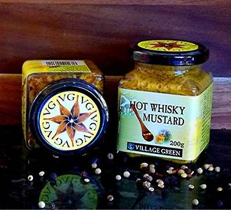 Hot Whisky Mustard