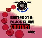 Beetroot & Black Plum Chutney (800g)