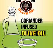 Coriander Infused Olive Oil Blend (1 litre)