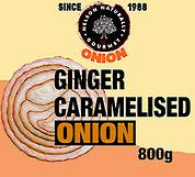 Ginger Caramelised Onion (800g)